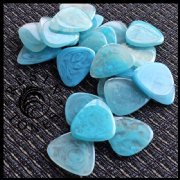 Resin Tones - Mr Blue Sky - 4 Guitar Picks | Timber Tones